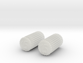 Pair of Dental Files in Frosted Ultra Detail