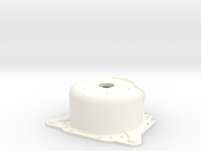 "1/12 Lenco 7.5"" Dp Bellhousing (No Starter Mnt) in White Strong & Flexible Polished"