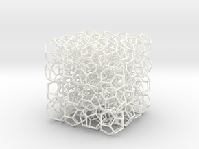 Dod'net in White Strong & Flexible Polished
