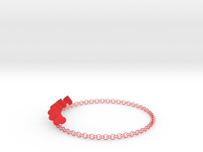 HeartNeck in Red Strong & Flexible Polished