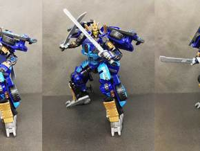 TF4: AOE De Metallikato Kit in White Strong & Flexible