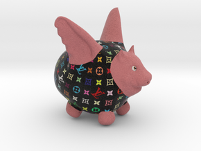 Flying Pig - Designer 2 in Full Color Sandstone