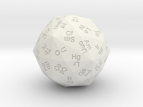 Periodic Die in White Strong & Flexible