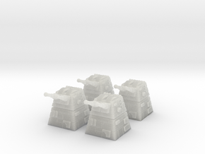 4x Turbolaser Turret in Frosted Ultra Detail