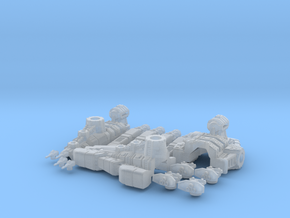 Nova Class Destroyer in Frosted Ultra Detail