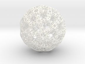 Truss Ball in White Strong & Flexible Polished