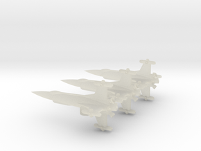 NASC F103 Squad in Transparent Acrylic