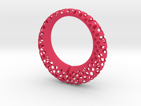 Polyoptic Bracelet Split in Pink Strong & Flexible Polished