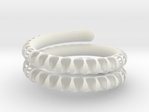 Fossil Coil lite in White Strong & Flexible