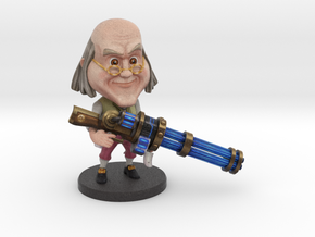 Ben Franklin - Ninja Time Pirates in Full Color Sandstone