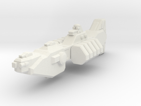 Union Destroyer in White Strong & Flexible