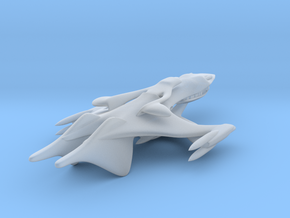 Classic Whitestar from Babylon 5 in Frosted Ultra Detail