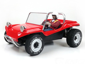 SR40004 Beach Buggy Main Body in Black Strong & Flexible