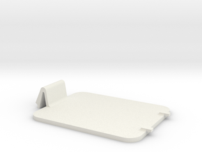 Rockband Drum replacement battery cover in White Strong & Flexible