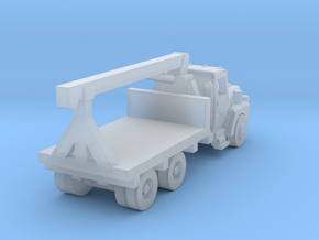 Mack Crane Truck - Open Cab - Z scale  in Frosted Ultra Detail