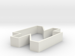 Sebo Cookie Cutter part 2 in White Strong & Flexible
