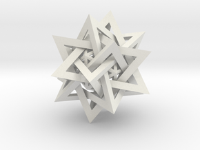 Five Tetrahedra Plus in White Strong & Flexible