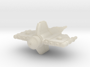 Alliance Pursuit Frigate 29mm in White Acrylic