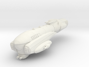 Imperial Assault Ship in White Strong & Flexible