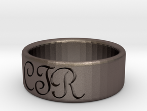 CTR Ring Size 9 in Stainless Steel