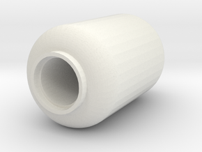 Propane Tank - 5 Gallon - 28mm scale in White Strong & Flexible