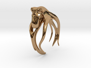 Octo, No.1 in Polished Brass