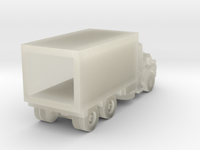 Mack Delivery Truck - Z scale in Transparent Acrylic