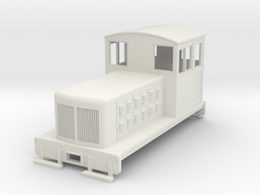 HOn30 Endcab conversion 2 for Kato 11-105 chassis in White Strong & Flexible