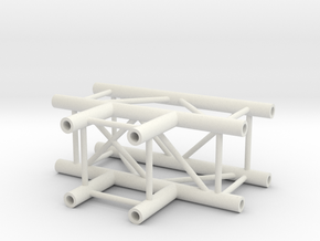 Square Truss T+ Piece 1.10 in White Strong & Flexible