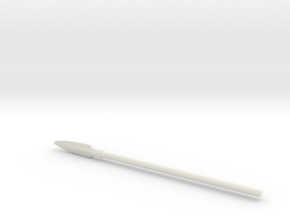Hoplite Spear in White Strong & Flexible