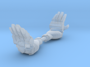 Mk1 - Rude Techno-Fist (talk to the hand) (x2) in Frosted Ultra Detail