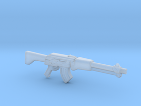 Assult rifle (28mm scale) in Frosted Ultra Detail