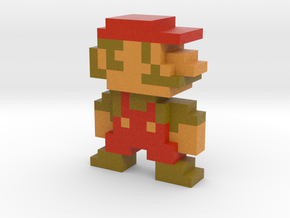 Mariorama Mario in Full Color Sandstone