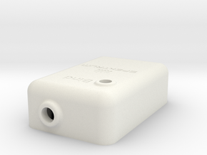 DM8 Enclosure TOP part 2-3 in White Strong & Flexible