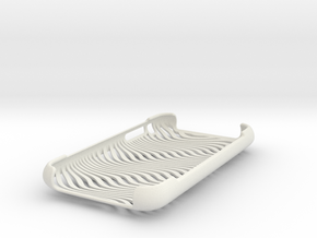 iPhone 3G 3Gs Case Waves in White Strong & Flexible