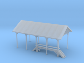 Railroad Repair Shelter in Frosted Ultra Detail
