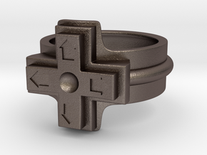 Ring of the gamer in Stainless Steel