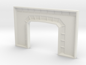 Z TUNNEL PORTAL MOLD in White Strong & Flexible