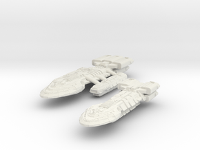 Supper BattleStar & BattleDestroyer in White Strong & Flexible