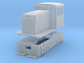 S Scale GE 25-Tonner (Work in Progress) in Frosted Ultra Detail