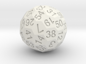 D60 in White Strong & Flexible