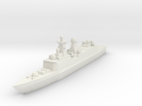 Type 054A 1:2400 in White Strong & Flexible