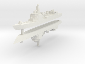 052 PLAN Destroyer 1:3000 x2 in White Strong & Flexible