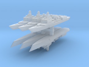 051C PLAN Destroyer 1:6000 x6 in Frosted Ultra Detail