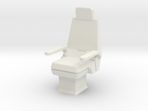 CP07 Command Chair (28mm) in White Strong & Flexible