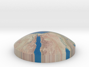 Omni globe mediterranean sea in Full Color Sandstone