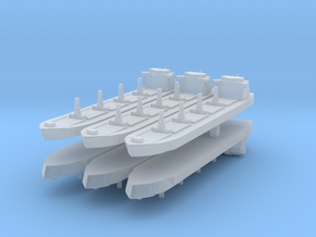 Generic Bulk Carrier 1:6000 x6 in Frosted Ultra Detail