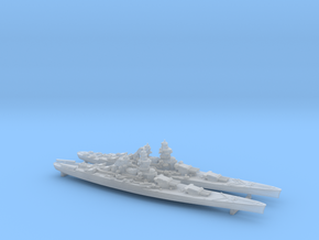 30FN01 1/3000 BB.Richelieu(1943) + BB.JeanBart(194 in Frosted Ultra Detail