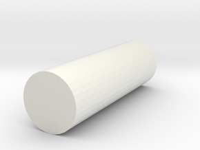 rod poly 8x8x25 in White Strong & Flexible