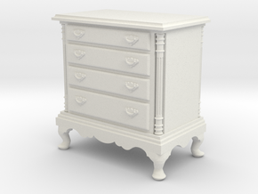 1:24 Dresser in White Strong & Flexible